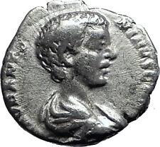 CARACALLA 196AD Genuine Authentic Ancient Silver Roman Coin Minerva Rare  i60003