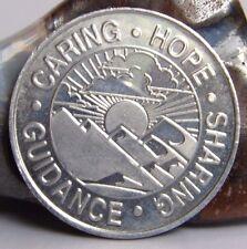 Alcohólicos Anónimos Aa patrocinio de aluminio Medallón Moneda Chip Token Dal