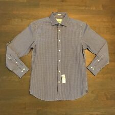 TODD SNYDER NEW YORK BLUE 15.5 32 33 2 PLY COTTON BUTTON DOWN SHIRT MENS NWT NEW
