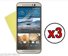 3x HQ CLEAR SCREEN PROTECTOR COVER LCD GUARD FILM FOR  HTC ONE M9