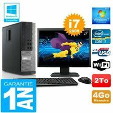 PC de bureau Dell Dell OptiPlex 990 Intel Core i7-2600