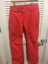 Patagoina Womens GORE-TEX Insulated Powder Bowl Ski Snowboard Red Pants S