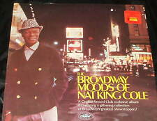NAT KING COLE The Broadway Moods of LP 1961 CAPITOL RECORD CLUB STILL SEALED