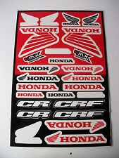 New Honda Decals Sticker Kit Cr Crf Xr Xl Xlr Nx Mtx Fmx Tl Tlr Slr Cbr Africa