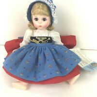 "MADAME ALEXANDER Gretel Little Women Blonde Hair Blue Eyes #454 8"" Girl Doll"