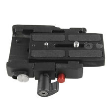 577 Rapid Connect Adapter 1PC with Mounting QR Plate 501PL For Manfrotto Black