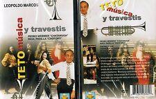 Teto Musica y Travestis Spanish DVD New Pedro Webwer Raul Padilla