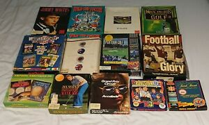 13x Commodore Amiga Sports Games Bundle Job Lot. Football/Golf/F1/Snooker/Pool.
