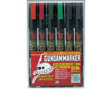 Mr.Hobby GMS108 Gundam Marker Zeon Set (6 colori) modellismo