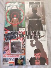 Human Target Issues #1-4 DC Vertigo Lot 2004 Peter Milligan Javier Pulido