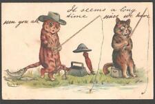Louis Wain Animals Collectable Artist Signed Postcards