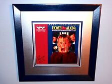 Macaulay Culkin Rare Hand Signed Framed Home Alone Laserdisc Movie Film + Candid