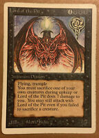 Lord of the Pit VHP Slight Warping (From Long Ago?) Unlimited 1993 Original Mtg