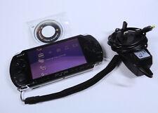 Sony PSP 3004 Slim & Lite Piano Black Playstation Portable WARRANTY *minor issue