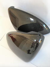 REAL VW Golf MK 7 VII Carbon Fibre Fiber REPLACEMENT Mirrors Cover GTI GTD GTE R