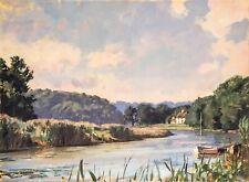 John Stobart Print - A View of the Lieutenant River