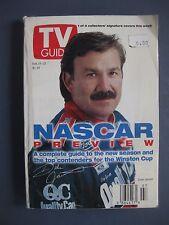 DALE JARRETT TV GUIDE NASCAR PREVIEW FEBRUARY 15, 1997