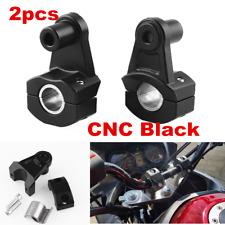"""Handlebar Riser Kit 1 1/8"""" 7/8"""" Bars Handle Bar Risers For Motorcycle Bike ATVs"""