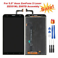 For Asus ZenFone 2 Laser ZE551KL Z00TD LCD Display+Touch Screen Assembly + Tools