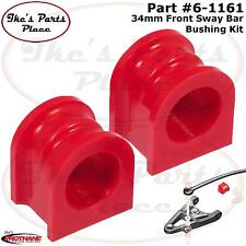 Prothane 6-1161 Front 34mm Sway Bar Bushing Kit For 05-10 Ford Mustang