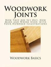 Woodwork Joints : How They Are Set Out, How Made and Where Used; with Four Hu...