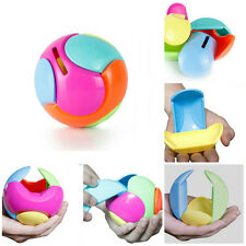 Puzzle Box for Kids Coin Piggy Bank Money Puzzle Ball DIY Educational Toys