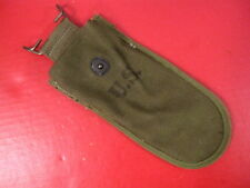 WWII US Army Canvas Wire Cutter Belt Pouch Dated 1945 - OD Color - Unissued