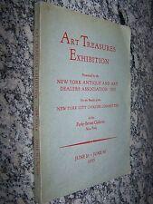 1955 Art Treasures Exhibition, Parke-Bernet Galleries, New York Antique Dealers