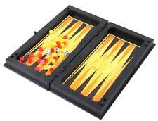 Brettspiel 3 n1 Backgammon Dame Schach Familienspiel Strategiespiel Reisespiel