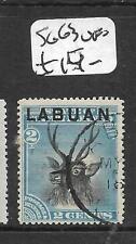 LABUAN (P0204B)  2C DEER  SG 63  VFU