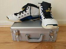 Nike AIR JORDAN 17 XVII Wizards Blue Home SZ 11.5 302720-141 Briefcase