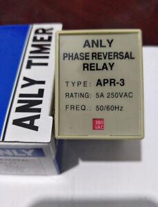 #LL 1PC NEWAPR-3 APR3 AC380V     ANLY