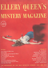 Ellery Queen's Mystery Mag April 1947 - Hammett, Christie, Woolrich, Allingham