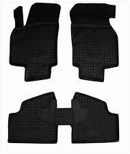 Rubber Car Floor Mats All Weather Alfombras Goma Carmats OPEL ASTRA H 2004-2014