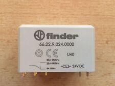 66.22   DPDT   24V DC   PCB   30A   POWER RELAY  FINDER 66.22.9.024.0000   Z1879