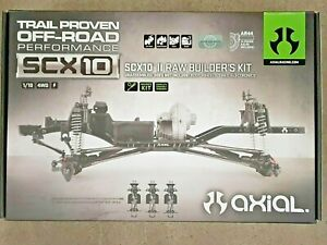Axial SCX10 II Raw Builders Kit AXI90104 Brand New!!