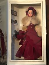 Victorian Elegance Barbie 1994 #12579 Special Edition Holiday Skating Outfit