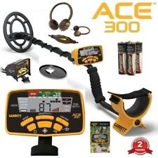 Garrett Ace 300 Metal Detectorheadphoneswaterproof Coil Free Accessories