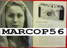 PDF Depliant DUCATI SOGNO Microcamera Opuscolo Illustrativo - 24 pag II ed 1947