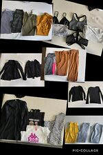 Womens Clothing Lot Size Large (23 Pieces) Tops And Bottoms