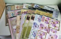 Kanban 21 x Mixed Craft Topper Bundle Sheets for Cardmaking / Scrapbooking