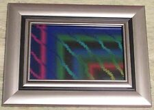 "Framed Original Digital Art, ""Dark Space"", Trippy, Psychedelic, Abstract, 2016"