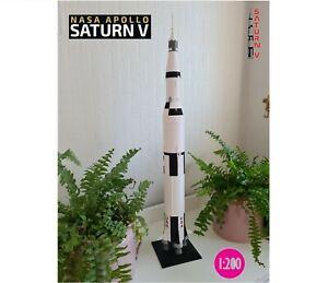 Nasa Saturn V / Apollo 11 Moon Launch Rocket Model ( 1:200 scale ) Free Delivery