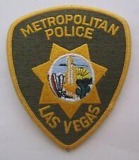 LAS VEGAS METROPOLITAN Police DEPARTMENT Patch