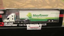 DCP #33106 MAYFLOWER KEY CITY MOVING FL CASCADIA SEMI CAB TRUCK TRAILER 1:64/ FC