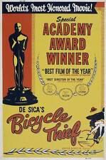 The Bicycle Thief Movie Poster 27x40 Lamberto Maggiorani Lianella Carell Enzo