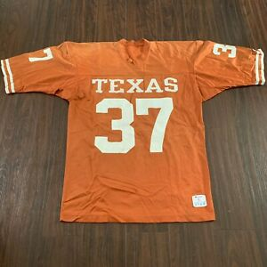 Vintage Texas Longhorns Football Jersey Size Large Champion 70's 80's