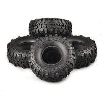 "4Pcs 1/10 1.9"" Tyres 12mm Hex Super Swamper Rocks For RC Climbing Rock Crawler"