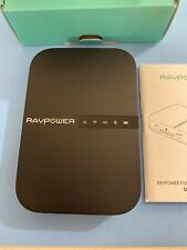 RAVPower Portable Wireless Router With Power Bank 83-13000-004