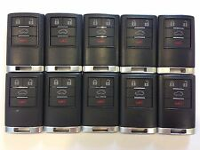 LOT OF 10 CADILLAC CTS DTS 08-13 REMOTE OEM KEY LESS ENTRY ALARM GM SEDAN FOB US